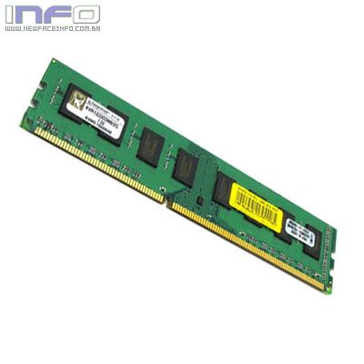 MEMÓRIA <u><b>DDR3</b></u> 2GB 1333MHZ CL9 KINGSTON