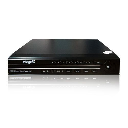 STAND ALONE 04 CANAIS DVR VISAGE MS VMS-8204V+