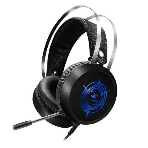 Fone com Microfone GAMER USB C3Tech HARRIER PH-G330BK