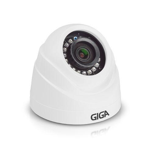 Câmera Dome IR20 3.2mm HD 720p Série Orion - Giga Security (GS0017)