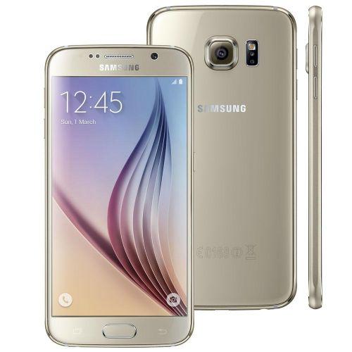 Telefone Celular Samsung Galaxy S6 4G 32GB G920IZ Dourado