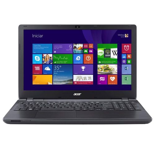 Notebook Acer E5-571-5474 ( Core I5 / 6GB / 1TB  / DVD / Leitor de Cartões / HDMI / Bluetooth / LED 15.6'' / Windows 8.1 )
