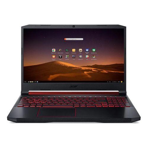 Notebook Acer Aspire NITRO 5 AN515-54-574Q Core I5-9300H 8GB SSD 512GB NVidia GTX1650 4GB 15.6 Fulll HD Endless OS