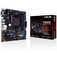 M1331 Placa Mãe AMD Asus PRIME B450M-GAMING/BR DDR4 ( 4x DDR4 / 1x PCIe 3.0 x16 / 2x PCIe x1 / 1X M.2 / 2x USB 3.1 / 4x USB 3.0 / 1x VGA / 1x DVI-D / 1x HDMI / 2x PS2 / RAID )