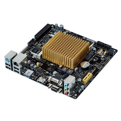 M1800 - ASUS J1800I-C + CELERON DUAL CORE J1800 MINI-ITX (2x SO-DIMM DDR3L / 1x PCI-E 2.0 x1 / 1x mini-PCIe / 2x Sata2 3.0 Gb/s / 1x USB 3.0 / 4x USB 2.0 / 1x HDMI / 1x VGA / 1x SERIAL )