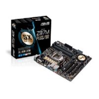 M1150 Placa Mãe LGA1150 Asus Z97M-PLUS/BR ( 4x DDR3 / 1x PCIe 3.0 x16 / 1x PCIe 2.0 x4 / 2x PCI / 6x Sata3 / 4x USB 3.0 / 2x USB 2.0 / 1x HDMI / 1x DVI-D )
