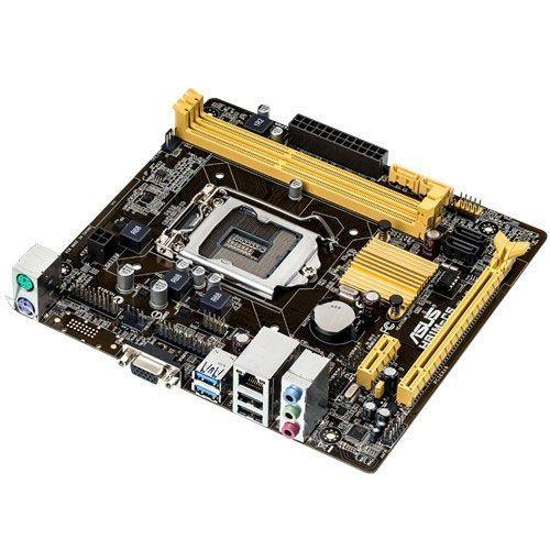 M1150 Placa Mãe LGA1150 Asus H81M-CS/BR ( 2x DDR3 / 1x PCIe 2.0 x16 / 1x PCIe 2.0 x1 / 2x USB 3.0 / 2x USB 2.0 / 1x VGA )