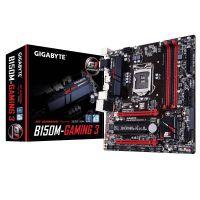 M1151 Placa Mãe LGA1151 Gigabyte GA-B150M-GAMING 3 DDR4 (4x DDR4 / 2x PCIe x16 / 2x PCI / 4x USB 3.0 / 2x USB 2.0 / 1x VGA / 1x HDMI / 1x DVI / 1x PS2)