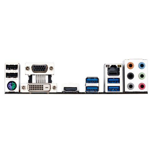 M1151 Placa Mãe LGA1151 Gigabyte GA-B250M-GAMING 3 DDR4 ( 4x DDR4 / 2x PCIe 2.0 x16 / 2x PCIe 2.0 x1 / 4x USB 3.0 / 2x USB 2.0 / 1x VGA/ 1x HDMI / 1x DVI / 1x PS2 )