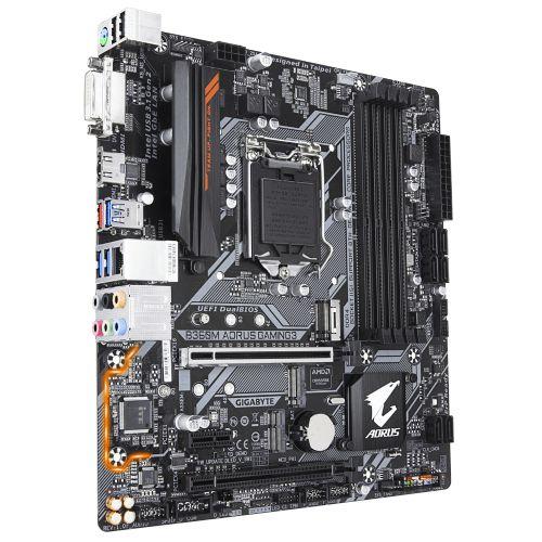 M1151 Placa Mãe LGA1151 Gigabyte B360M AORUS GAMING 3 DDR4 ( 4x DDR4 / 2x PCIe 2.0 x16 / 1x PCIe 2.0 x1 / 4x USB 3.1 / 2x USB 2.0 / 1x HDMI / 1x DVI / 1x PS2 )