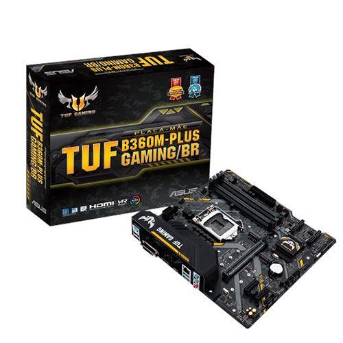 M1151P - ASUS TUF B360M-PLUS GAMING/BR DDR4