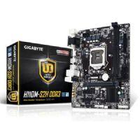 M1151 Placa Mãe LGA1151 Gigabyte GA-H110M-S2H DDR3 (2x DDR3 / 1x PCI-E 16x 2.0 / 2x PCI-E 1x / 1x VGA / 1x DVI-D / 1x HDMI / 2x USB 3.0 / 4x USB 2.0 / 2x PS2)