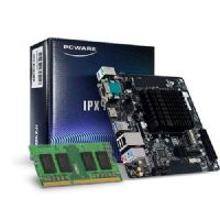 M4000 - Placa Mãe com Processador Intel Dual Core J4005 PCWare IPX4005G (1x DDR4 / 1x M.2 / 2x Sata3 6.0 Gb/s / 2x USB 3.0 / 2x USB 2.0 / 1x HDMI / 1x VGA / 2x PS2 ) com 01 Memória NOTEBOOK DDR4 4GB
