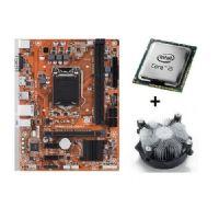 M1151 Placa Mãe LGA1151 PCWare IPMH110G DDR3 com Processador Core I5 6600 OEM + Cooler