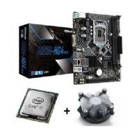 M1150 Placa Mãe LGA1150 ASRock H81M-HG4 com Processador Intel Core I7 4770 OEM + Cooler