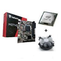 M1155 Placa Mãe LGA1155 Valianty H61-MA5 com Processador Core I3 3220 OEM + Cooler