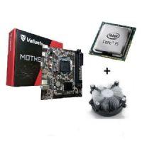 M1155 Placa Mãe LGA1155 Valianty H61-MA5 com Processador Core I5 3550 OEM + Cooler