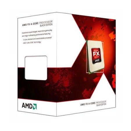 P940 AMD FX 4300 3.8GHZ 4MB 95W AM3+ Black Edition