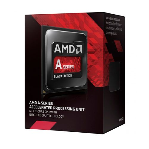 P904 AMD APU A8 X4 7650K 3.3Ghz 4MB 95W FM2+ Black Edition (AD765KXBJABOX)
