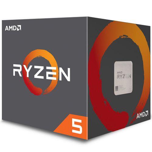 P1331 Processador AMD RYZEN 5 2600X 3.60GHz 19MB 95W AM4 com Wraith Stealth Cooler (YD260XBCAFBOX)