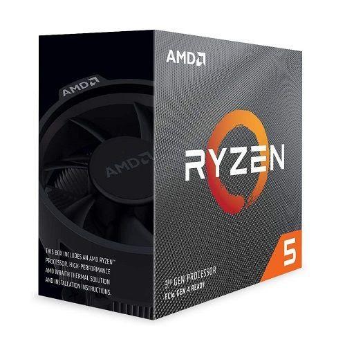 P1331-3 Processador AMD RYZEN 5 3600X 3.8GHz 35MB com Wraith Spire Cooler AM4 / 95W