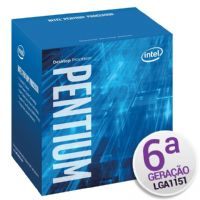P1151 Processador Intel Pentium G4400 3.3GHz LGA1151 3MB - 6ª Geração