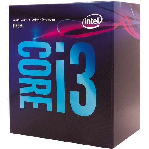 P1151-8 Processador Intel CORE I3 8100 3.6GHz 6MB Coffee Lake LGA1151 - 8a Geração  ** ESTE PROCESSADOR SÓ FUNCIONA COM PLACA MÃE SÉRIE 300
