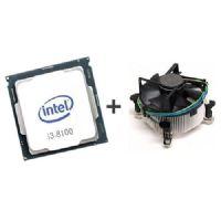 P1151-8 Processador Intel CORE I3 8100 3.6GHz 6MB Coffee Lake LGA1151 OEM Com Cooler - 8a Geração  ** ESTE PROCESSADOR SÓ FUNCIONA COM PLACA MÃE SÉRIE 300