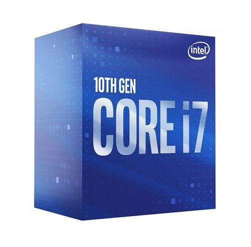 P1200-10 Processador Intel CORE I7 10700 2.90GHZ 16MB Comet Lake LGA1200 - 10ª Geração ** ESTE PROCESSADOR SÓ FUNCIONA COM PLACA MÃE SÉRIE 400
