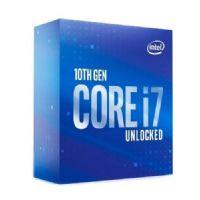 P1200-10 Processador Intel CORE I7 10700K 3.80GHZ 16MB Comet Lake LGA1200 - 10ª Geração (SEM COOLER) ** ESTE PROCESSADOR SÓ FUNCIONA COM PLACA MÃE SÉRIE 400