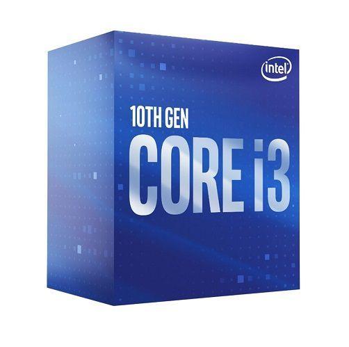 P1200-10 Processador Intel CORE I3 10100F 3.60GHZ 6MB Comet Lake LGA1200 (S. GRÁFICO) 10ª Geração