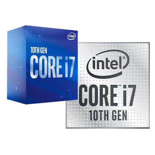 P1200-10 Processador Intel CORE I7 10700F 2.90GHZ 16MB Comet Lake LGA1200 - 10ª Geração ** ESTE PROCESSADOR SÓ FUNCIONA COM PLACA MÃE SÉRIE 400/500