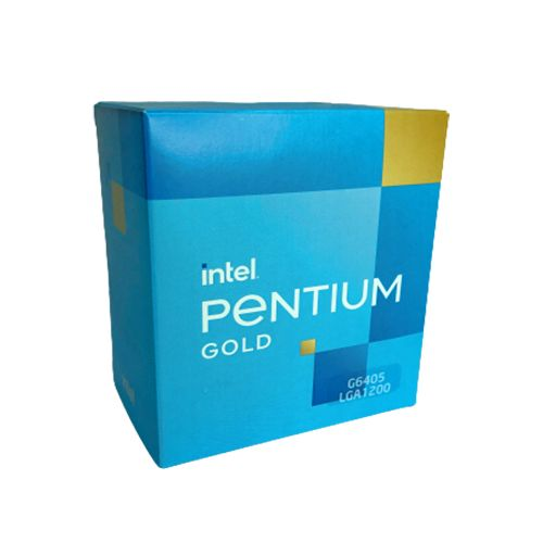 P1200-10 Processador Intel Pentium G6405 4.10GHz 4MB Comet Lake LGA1200 - 10ª Geração ** ESTE PROCESSADOR SÓ FUNCIONA COM PLACA MÃE SÉRIE 400/500