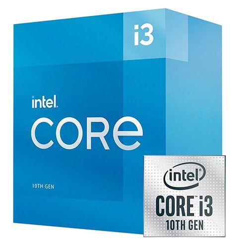 P1200-10 Processador Intel CORE I3 10105 3.70GHZ 6MB Comet Lake LGA1200 - 10ª Geração ** ESTE PROCESSADOR SÓ FUNCIONA COM PLACA MÃE SÉRIE 400/500