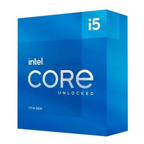 P1200-11 Processador Intel CORE I5 11400 2.60GHZ 12MB Rocket Lake LGA1200 - 11ª Geração ** ESTE PROCESSADOR SÓ FUNCIONA COM PLACA MÃE SÉRIE 500