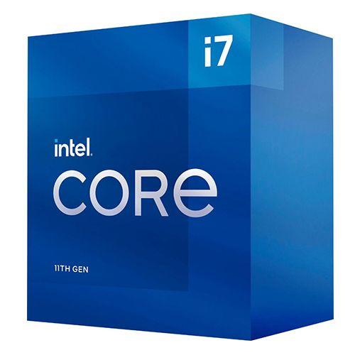 P1200-11 Processador Intel CORE I7 11700 2.50GHz Rocket Lake LGA1200 - 11ª Geração ** ESTE PROCESSADOR SÓ FUNCIONA COM PLACA MÃE SÉRIE 500