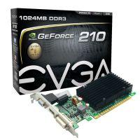 VGA PCI-E GeForce 210 1GB DDR3 64BITS EVGA ( 1x HDMI / 1x VGA / 1x DVI ) 01G-P3-1313-KR