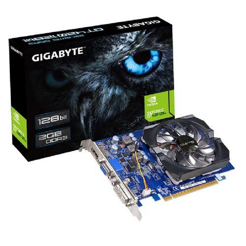 Placa de Video GeForce GT420 2GB DDR3 128Bits Gigabyte - (1xHDMI / 1xDVI / 1xVGA) - GV-N420-2GI