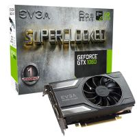 Placa de Video NVidia GeForce GTX 1060 SC Gaming 6GB DDR5 194bits EVGA - ( 1x HDMI / 1x DVI / 3x Display Port ) - 06G-P4-6163-KR
