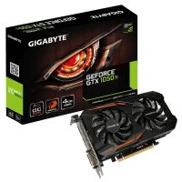 Placa de Video NVidia GeForce GTX1050TI 4GB OC DDR5 128bits GIGABYTE- ( 1xHDMI / 1xDVI / 1xDisplay Port ) - GV-N105TOC-4GD