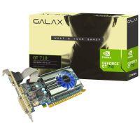 Placa de Video NVidia GeForce GT710 2GB DDR3 64bits GALAX- ( 1xHDMI / 1xDVI / 1xVGA ) - 71GPH4HXJ4FN