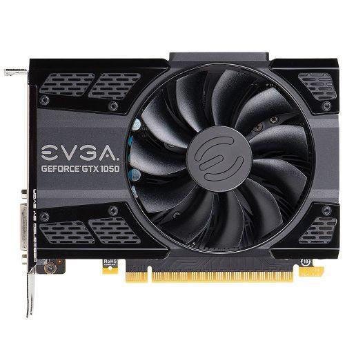Placa de Video GeForce GTX1050 2GB SC DDR5 128bits EVGA - ( 1x DVI / 1x HDMI / 1x DisplayPort ) - 02G-P4-6152-KR