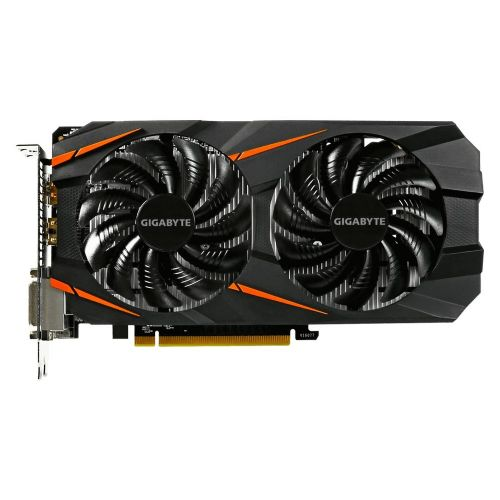 Placa de Video GeForce GTX1060 3GB DDR5 192bits GIGABYTE - ( 2x DVI / 1x HDMI / 1x DisplayPort ) - GV-N1060WF2OC-3GD