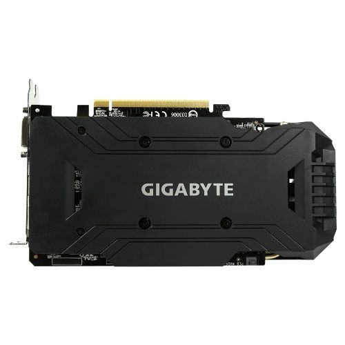 Placa de Video Nvidia GeForce GTX1060 3GB DDR5 192Bits GIGABYTE - ( 2x DVI / 1x HDMI / 1x DisplayPort ) - GV-N1060WF2OC-3GD