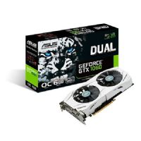 Placa de Video GeForce GTX1060 6GB DDR5 192bits ASUS - ( 2x HDMI / 1x DVI / 2x DisplayPort ) - GTX1060O6G