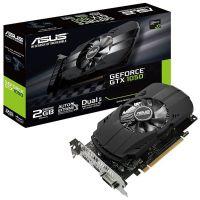Placa de Video GeForce GTX1050 2GB DDR5 128bits ASUS - ( 1x DVI / 1x HDMI / 1x DisplayPort ) - PH-GTX1050-2G