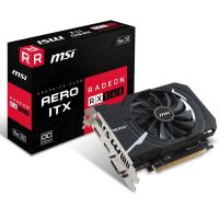Placa de Video AMD Radeon RX 560 AERO ITX 4GB OC DDR5 128bits MSI - ( 1x DVI / 1x HDMI / 1x DisplayPort ) - 912-V809-2467