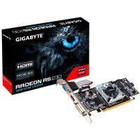 Placa de Video AMD Radeon R5 230 1GB DDR3 64bits Gigabyte - ( 1x DVI / 1x HDMI / 1x VGA / Perfil Baixo ) - GV-R523D3-1GL Rev 2.0