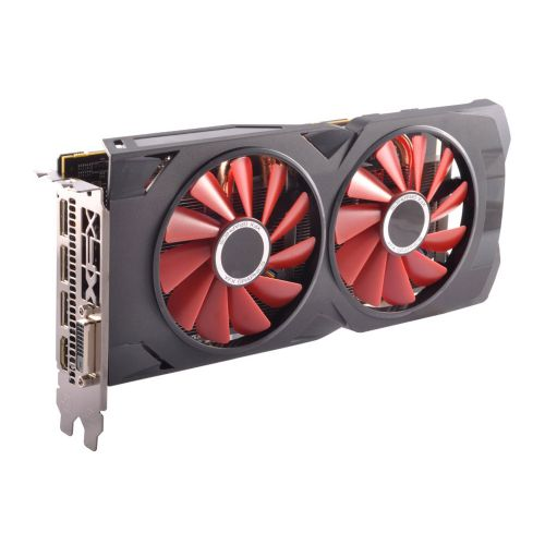 Placa de Video AMD Radeon RX 570 4GB DDR5 256bits XFX - ( 1x DVI / 1x HDMI / 3x Display Port ) - RX-570P4DFDR