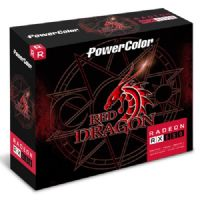 Placa de Video AMD RX 550 2GB DDR5 128Bits Powercolor AXRX 550 2GBD5-DHA/OC